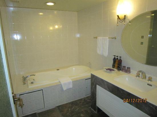 Quintessa Hotel Sapporo: Whirlpool Bath