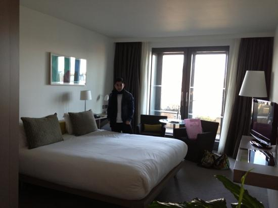 The Gibson Hotel: our mini suite. room 584 I think