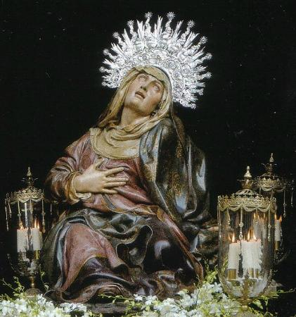 Valladolid, Spain: Virgen de las Angustias