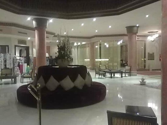 Zalagh Kasbah Hotel and Spa: Hotel reception area