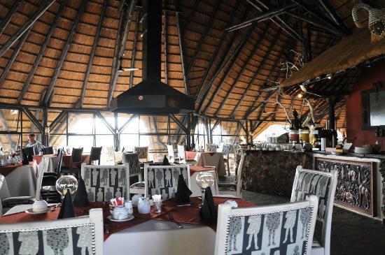 Vingerklip Lodge: Hier gibt´s Frühstück