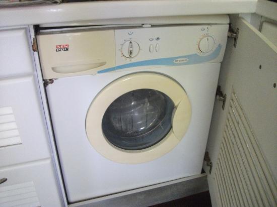 Aquarelle's Villas: machine à laver