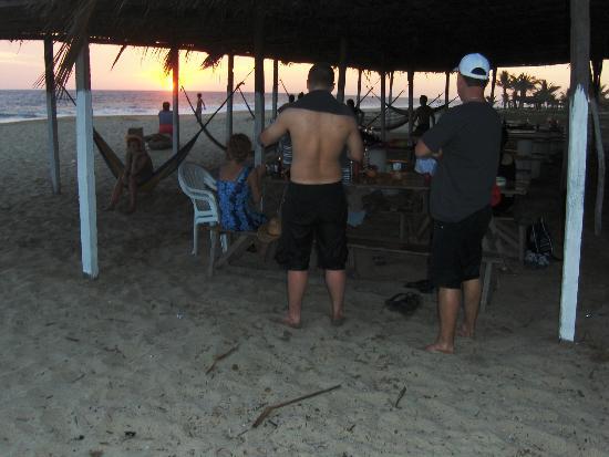 Quinta Erika: Beach part of Las Panchita Restaurant