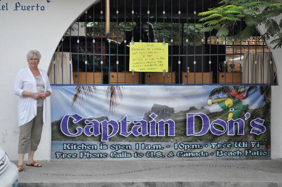Captain Don's Bar - PVR Mexico
