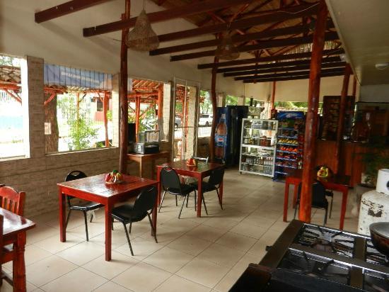 Art Hotel Managua: Dining Area