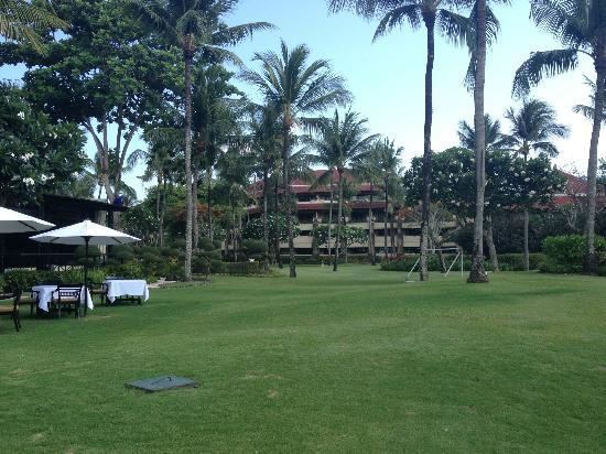 INTERCONTINENTAL Bali Resort: Hotel grounds 