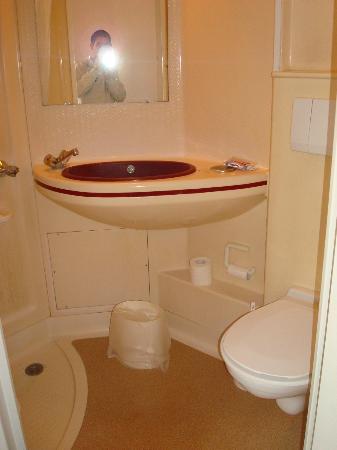 Abricotel Hotel : Baño: lo suficiente