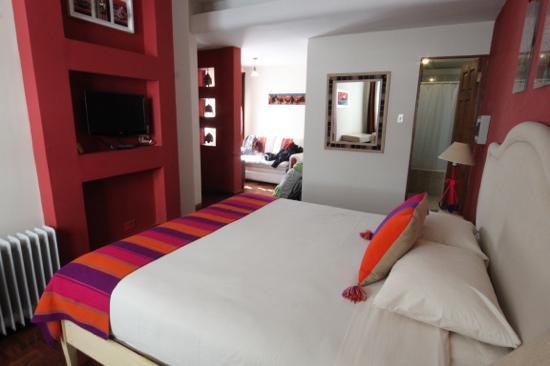 Hotel Rosario La Paz : matrimonial room