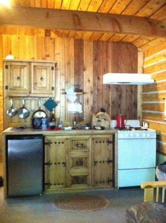 Stehekin Valley Ranch: Awesome little kitchen!
