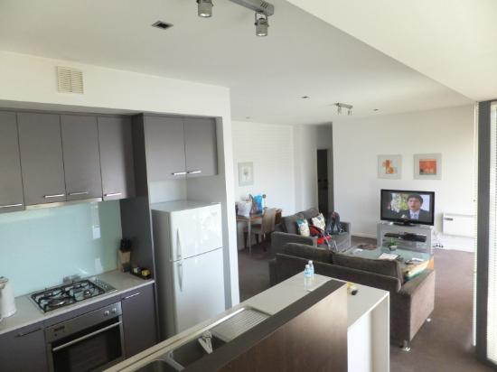 Apartments at Glen Waverley: Large living area
