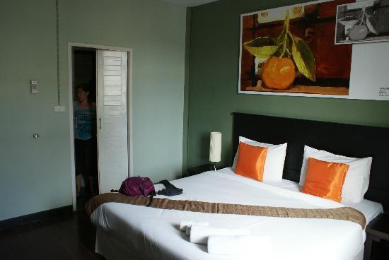 Orange Tree House: La habitación del hotel