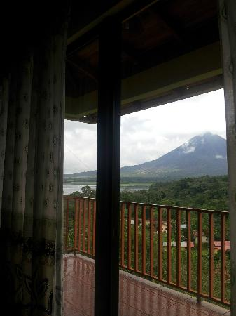Hotel Castillo del Arenal: the view from the room
