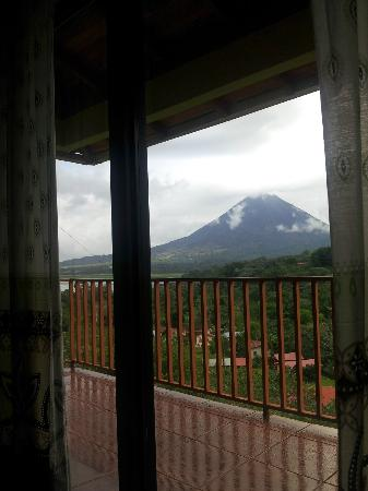 Hotel Castillo del Arenal: view from the room