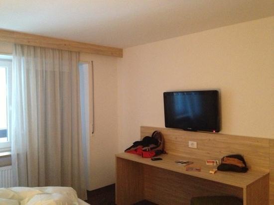 Hotel Stifter: camera vista montagna