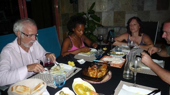Le Triskell: Abendessen im Paradies