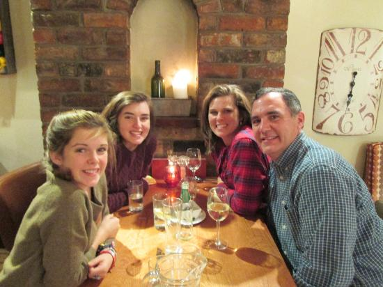 The Fisherbeck: Family Dinner in Ambleside