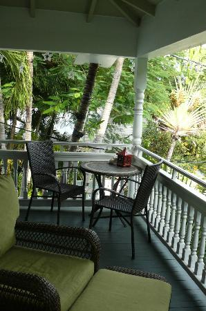 The Mermaid & The Alligator: Poinciana balcony left
