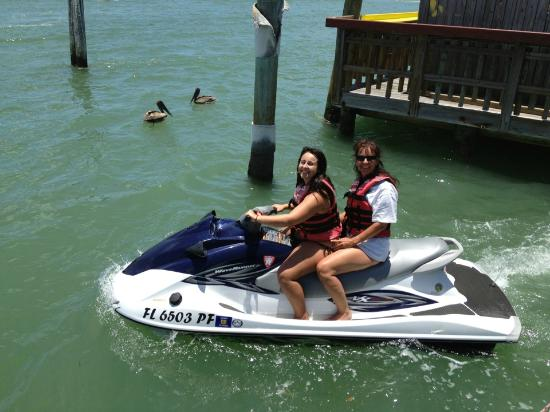 Woody's Watersports : A beautiful day for a jet ski ride!