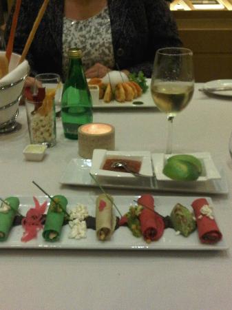 Hotel Riu Plaza Guadalajara: Chardonnay dinner