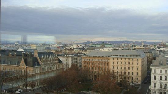 InterContinental Wien : View from the Club Lounge