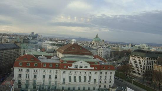 InterContinental Wien: View from the Club Lounge
