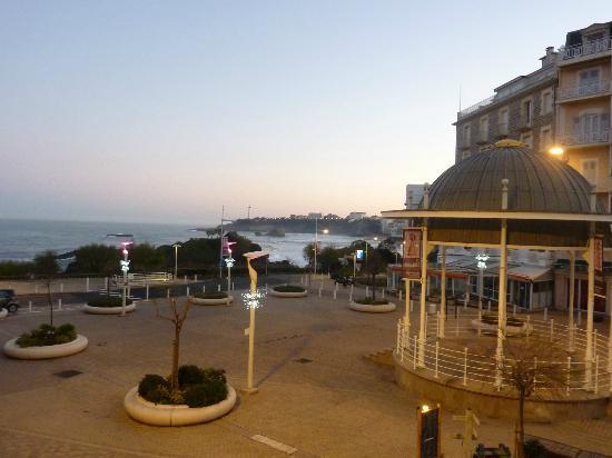 Hotel de l'Ocean: vue depuis la chambre