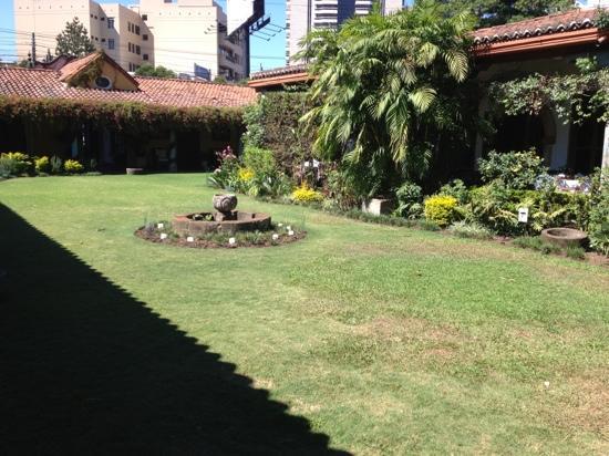 Jean Francois : jardín