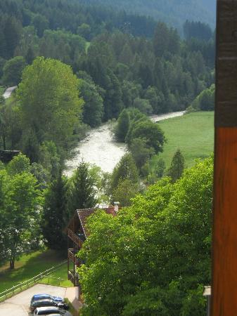 Hotel Val di Sole: Dal balcone
