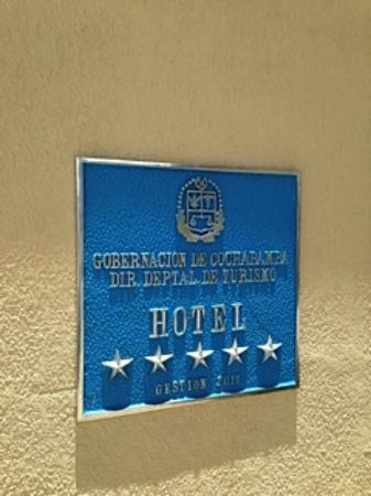 Gran Hotel Cochabamba: Hotel