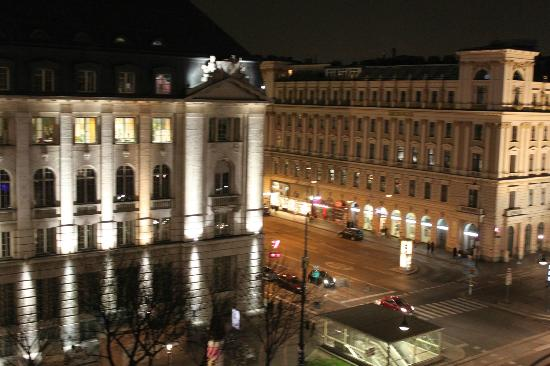Hotel de France: View from the room