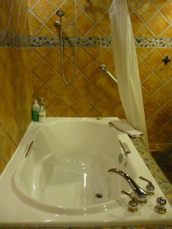 Norfolk Guest House : Jacuzzi tub