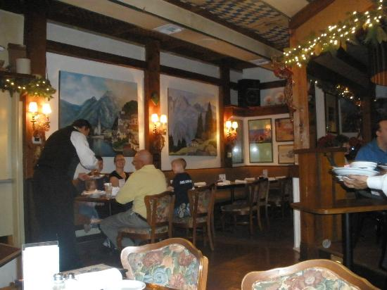 Interior picture of rudi lechner s german restaurant