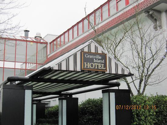 جرانفيل أيلاند هوتل: Granville Island Hotel 