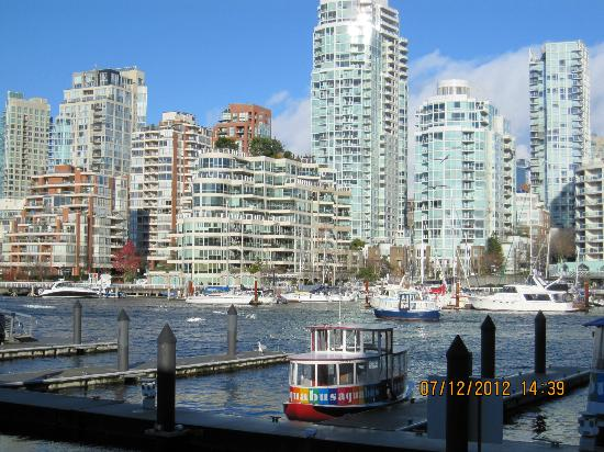 Granville Island Hotel: False Creek and the Aquabus