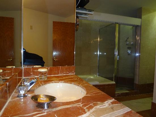 Haywood Park Hotel: Sink - Shower - Tub