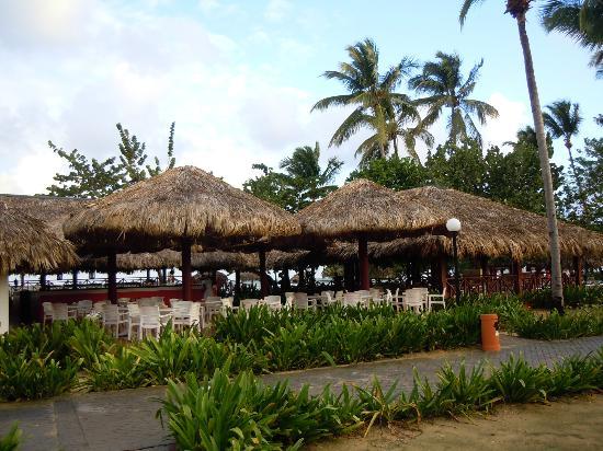 Grand Bahia Principe El Portillo: restaurante playa