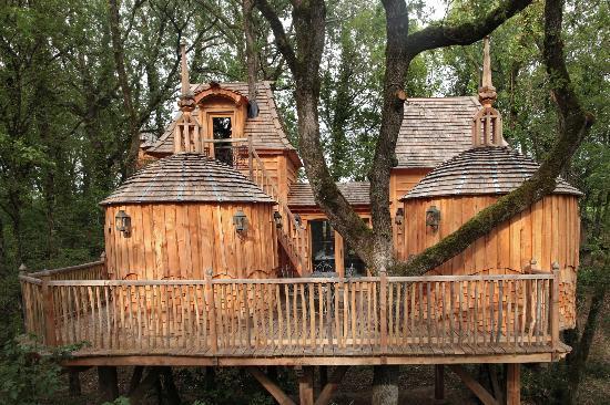 Châteaux Dans les Arbres : Cabane Hautefort