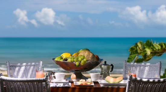 The Chili Beach Boutique Hotel & Resort: chili Beach Sea View Breakfast