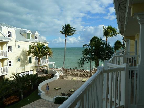 Southernmost Beach Resort: View from building B room