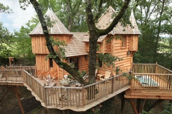 cabane hautefort picture of chateaux dans les arbres bergerac tripadvisor. Black Bedroom Furniture Sets. Home Design Ideas