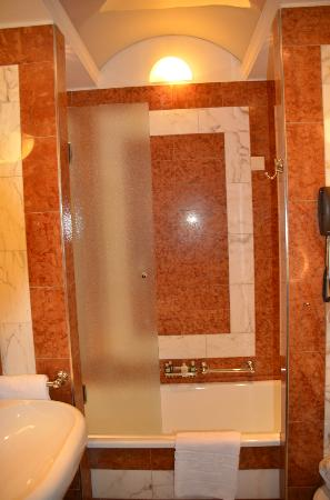 Hotel Bristol Vienna: Shower