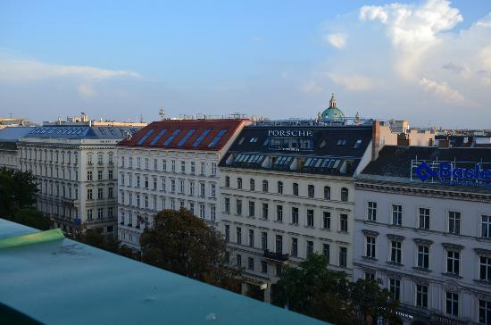 Hotel Bristol Vienna: View from balcony