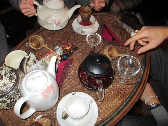 Tea Room: te e tazze