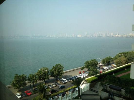 The Oberoi, Mumbai: View of the Arabian Sea from the Suite