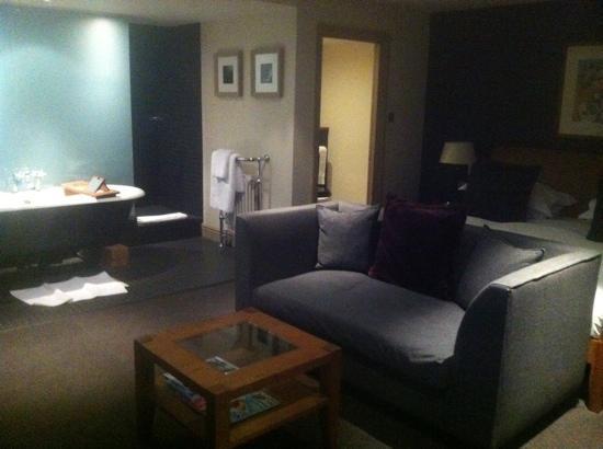 Hotel du Vin Cambridge: Hush Heath suite