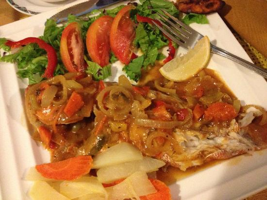 Laurel's: Yummy Red Snapper!