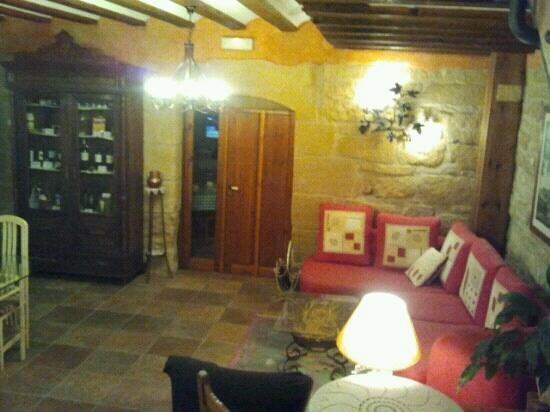 Casa Rural El Meson: sal?n