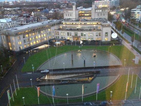 Novotel Den Haag World Forum: View of the city from floor 12