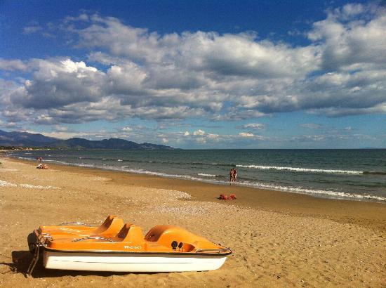 Hotel Acquasanta: spiaggia