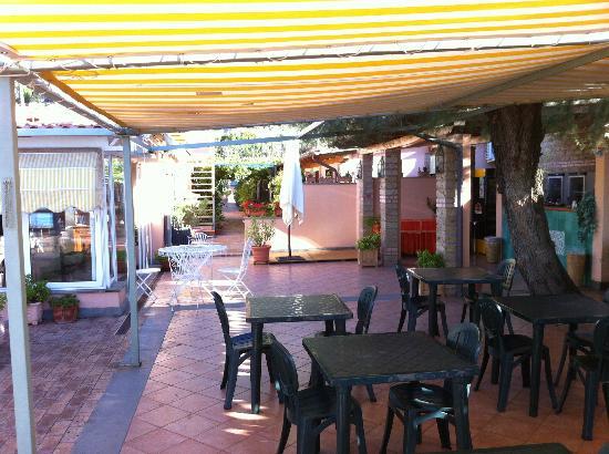 Hotel Acquasanta: terrazza
